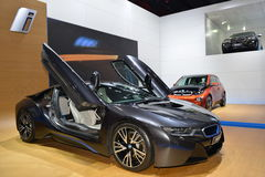 BMW i8 concept car Stock Images