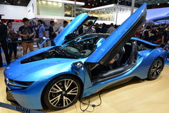 BMW i8 concept car Royalty Free Stock Images