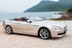 BMW 650i Convertible Stock Photos