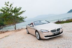 BMW 650i Convertible Royalty Free Stock Photos