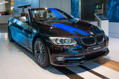 BMW 330i on display Stock Images