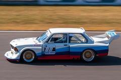 BMW 320i e21赛车 免版税库存图片