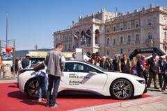BMW i8, elektryczny samochód Obrazy Stock