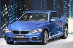 BMW 435i 4er小轿车 免版税库存图片