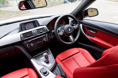 BMW 328i 2013 Model Drive Bay Stock Images