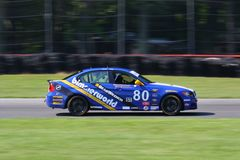 BMW 328i Motorsports racing Stock Images