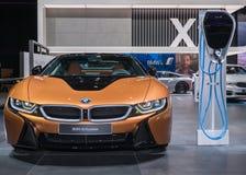 BMW 2018 i8, NAIAS Photo libre de droits