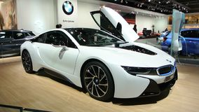 BMW i8 plug-in hybrid Royalty Free Stock Image
