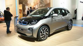 BMW i3 plug-in hybrid Stock Images