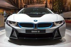 BMW i8 plug-in hybrid sports car Stock Image