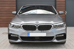 BMW 540i Royalty Free Stock Photos