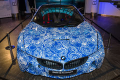 BMW i8 Prototype Royalty Free Stock Photos