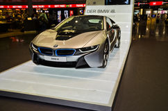BMW i8 Series car Royalty Free Stock Photography