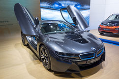 BMW i8 Super Hybrid Coupe Stock Image