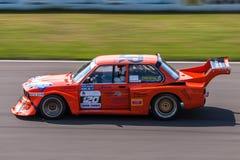 BMW 320i tävlings- bil Royaltyfria Foton