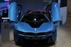 BMW i8 toppen körning Royaltyfria Foton