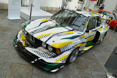 BMW 320i Turbo de Roy Lichtenstein Imagenes de archivo