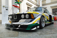 BMW 320i Turbo by Roy Lichtenstein Royalty Free Stock Images