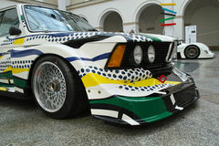 BMW 320i Turbo by Roy Lichtenstein Stock Photos