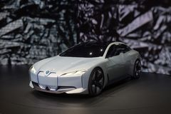 BMW i Vision Dynamics Concept Car Royalty Free Stock Photography