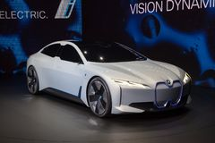 BMW i Vision Dynamics Concept Car Stock Photography