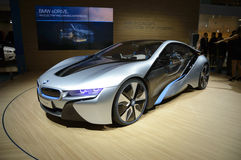 BMW i8 Vision Efficient Dynamics, Hybrid Car Royalty Free Stock Photos