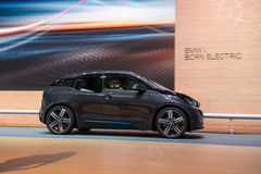 BMW i3 is the world's first premium all-electric car - world premiere Stock Photo