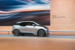 BMW i3 is the world's first premium all-electric car - world premiere Stock Image