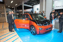 BMW i3 is the world's first premium all-electric car - world premiere Stock Images