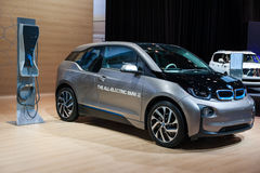 BMW i3 at the Chicago Auto Show Stock Images