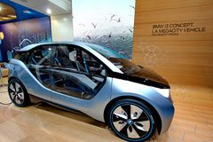 BMW i3 Concept car Royalty Free Stock Photography