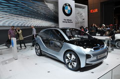 BMW i3 Concept Car Royalty Free Stock Photo
