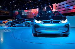BMW i3 and i8 Concept Cars Stock Photography