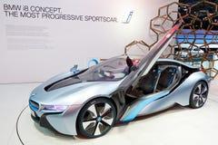 BMW i8 Concept Car Royalty Free Stock Photos