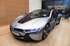 BMW i8 concept car Stock Photography