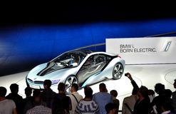 BMW i8, concept car. Stock Photo