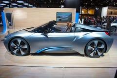 BMW i8 Spyder Concept - European premiere Royalty Free Stock Photos
