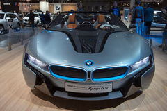 BMW i8 Spyder Concept - European premiere Stock Photos