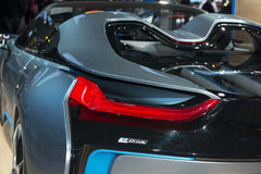 BMW i8 Spyder Concept - European premiere Royalty Free Stock Photography