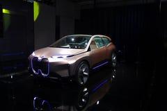 BMW iNext Concept car at CES 2019 stock photos