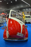 BMW Isetta. Fair annually Retro Classic 2013 in Bilbao (Spain), BMW Isetta, front view Royalty Free Stock Photo