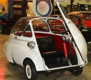 1957 BMW Isetta Mini Antique Automobile Royalty Free Stock Photography