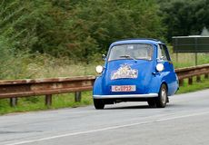 BMW Isetta - Oldtimer Rallye Stock Photography