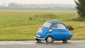 BMW Isetta - speed test Royalty Free Stock Image