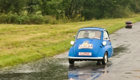 BMW Isetta - test de vitesse images stock