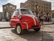 Bmw isetta three-wheel Stock Image