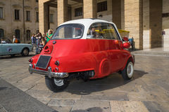 Bmw isetta three-wheel Royalty Free Stock Photo