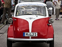 BMW Isetta 300 vintage microcar produced in years (1956–62) Royalty Free Stock Images