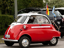 BMW Isetta 300 vintage microcar produced in years (1956–62) Stock Photography