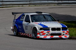 Bmw. At Jankov Vršok at the races Stock Images